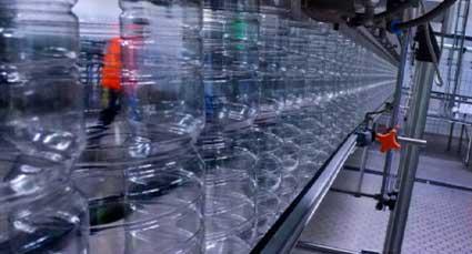 Conventional bottling line