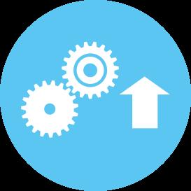Increased line efficiency icon