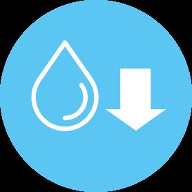 Minimal operating cost icon